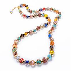 Corner Murano Necklace