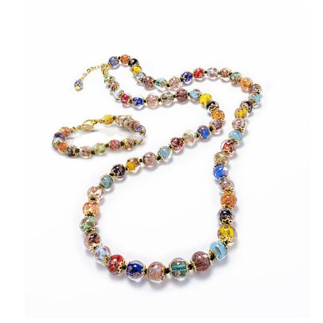 Cornaro Murano Necklace & Bracelet