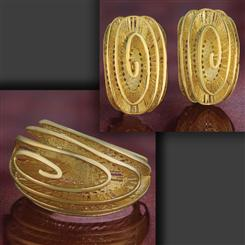 La Spirale Collection (Earrings and Ring)