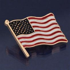 Star Spangled Banner Pin