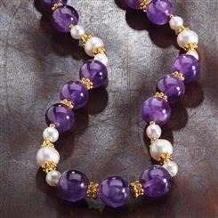 Her Highness Amethyst Necklace