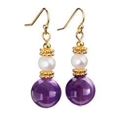 Her Highness Amethyst Earrings