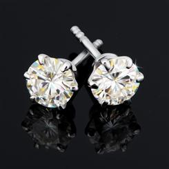 ULTRANOVA Moissanite Collection Stud Earrings