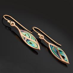 Abalone Rainbow Earrings