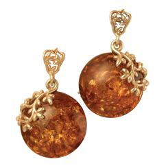 Amber Forever Earrings