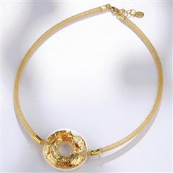 24K Gold Murano Glass Necklace