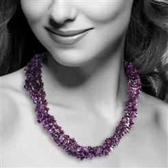 Porpora Amethyst Necklace