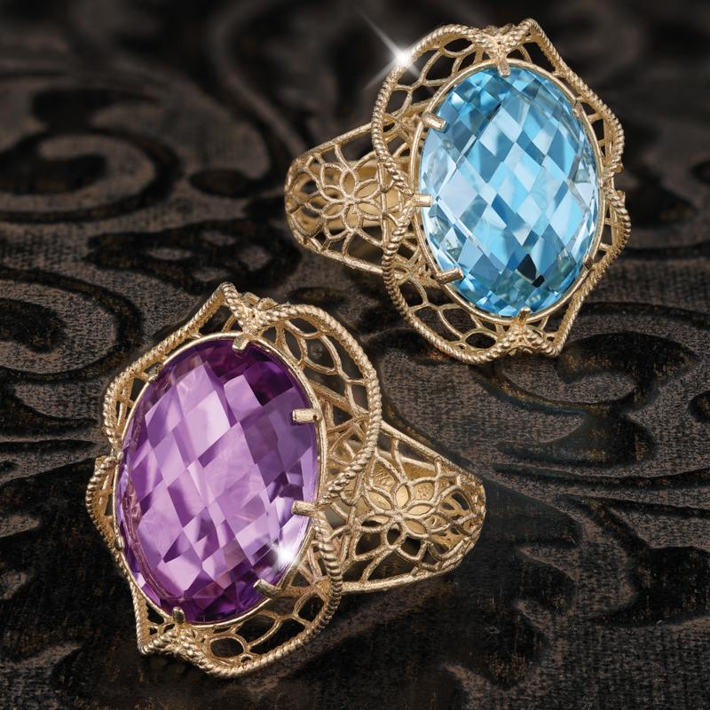 Cesto di Gemme Ring Collection