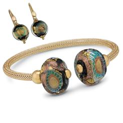 Murano Luccicare Collection Set