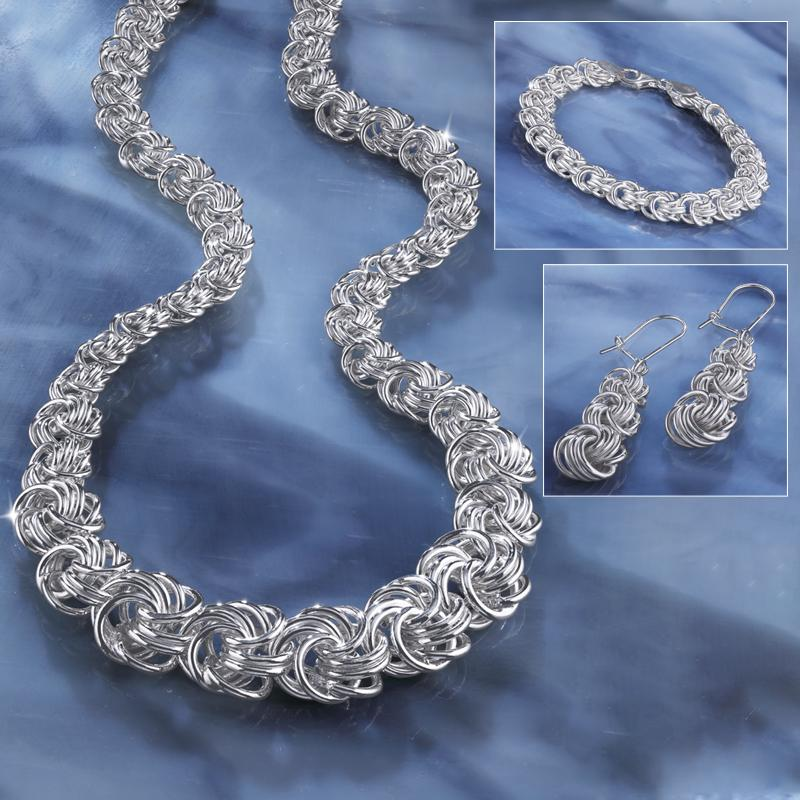 Italian Byzantine Sterling Silver Collection