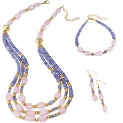 Tanzanite & Morganite Lost Safari Complete Set