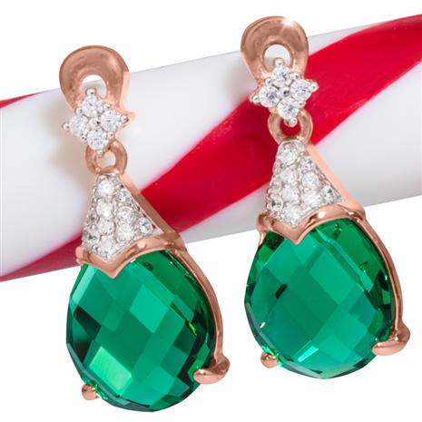 Gala Drop DiamondAura Earrings