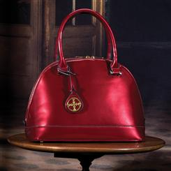Stauer Red Holly Handbag