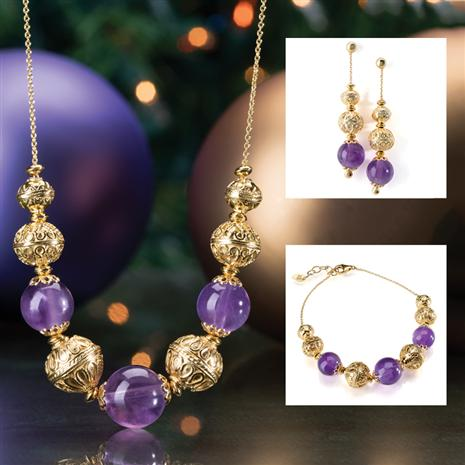 Medici Amethyst Collection Complete Set