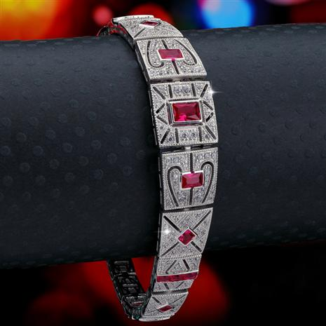 Roaring Twenties Bracelet (red)