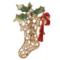 Signs of the Season Brooch Stocking