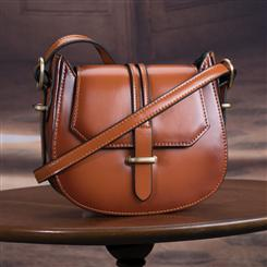 Blair Leather Saddle Bag