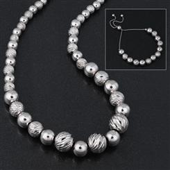 Sfera dArgento Necklace & Bracelet