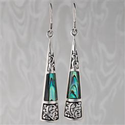 Bali Abalone Earrings