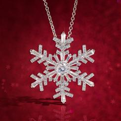 Snowflake Magic Pendant/Brooch