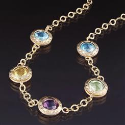Gemme Miste Gemstone Necklace
