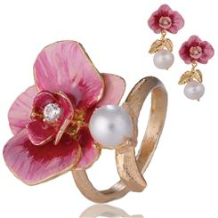 Sardinia Orchids & Pearls Collection