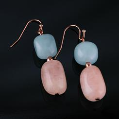 Morganite Good Luck Earrings (50 ctw)