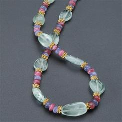 Three Graces Gemstone Necklace