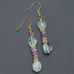 Three Graces Gemstone Earrings
