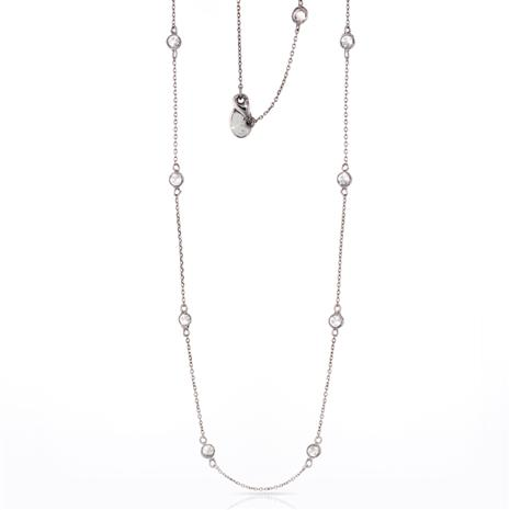 DiamondAura Station Necklace