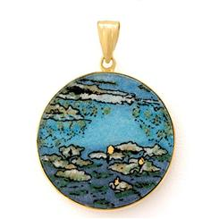 Water Lilies Pendant