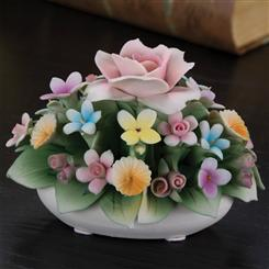 Springs Bouquet Capodimonte Sculpture