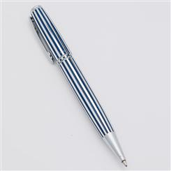Zoppini Ballpoint Pen (Navy Stripe)