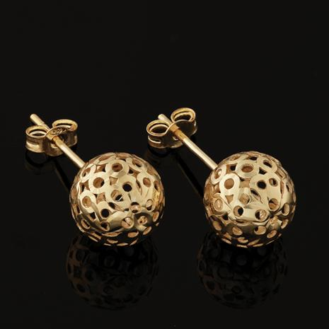 14K Italian Gold Perfetto Earrings