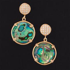Ama Abalone Earrings