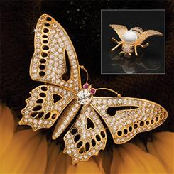 Butterfly Brooches (set of 2)