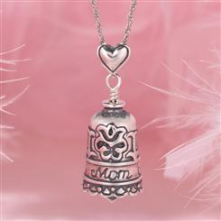 Mothers Blessing Bell Pendant & Chain