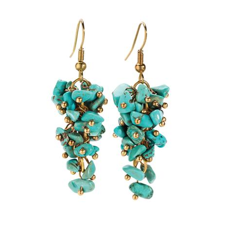Turquoise Poise Earrings