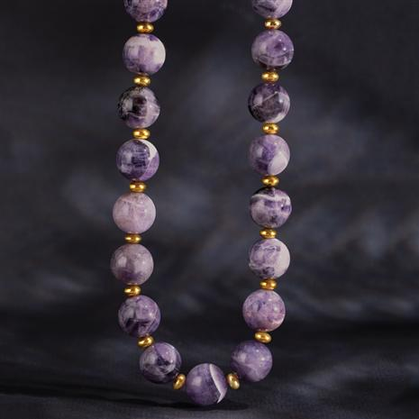 Grand Entrance Amethyst Necklace