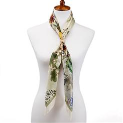 Floreale Silk Scarf plus Scarf Ring