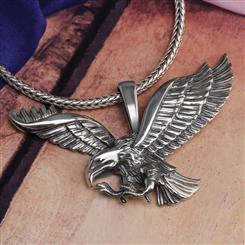 Freedom Soars Eagle Pendant