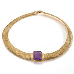 Dea Fortuna Amethyst Necklace