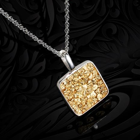 Gold Nugget 1849 Necklace