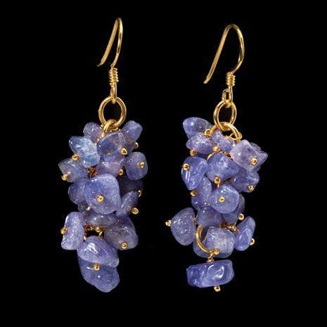 Tanzanite Rarity Bracelet Earrings