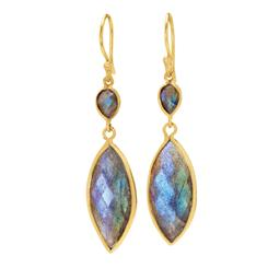 Labradorite Opalescent Earrings