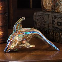 Animale di Fantasia Murano Glass Dolphin