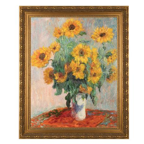 Sunflowers Claude Monet Painting