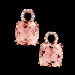 Pamirite Rose Earrings
