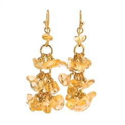 Citrine Sunshine Earrings