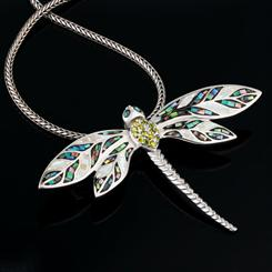 Luck Be a Dragonfly Pendant/Brooch